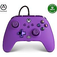PowerA PowerA Enhanced Wired Controller para Xbox Series X | S - Royal Purple, gamepad, controlador de videojuegos con…