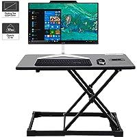 WorkGroup Height Adjustable Desk Converter 25.6 inches | Sit Standing Desk Riser Computer Workstation Home Office…