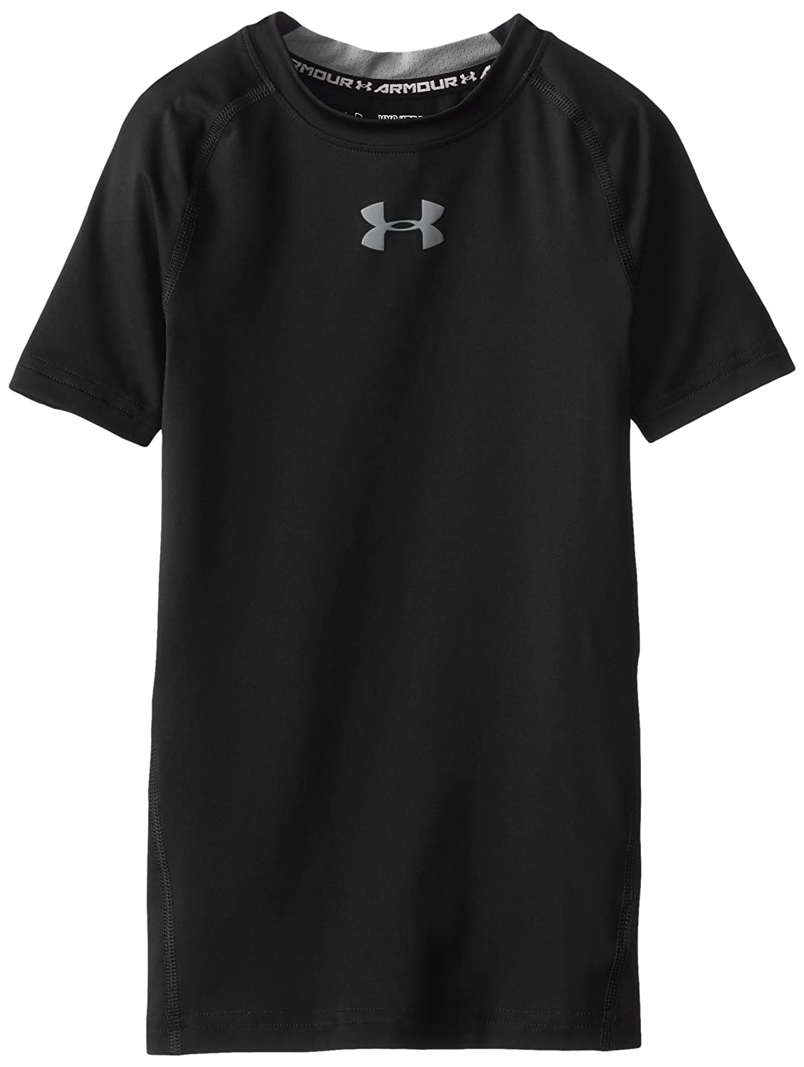 Under Armour Boys HeatGear Armour Short Sleeve Fitted Shirt
