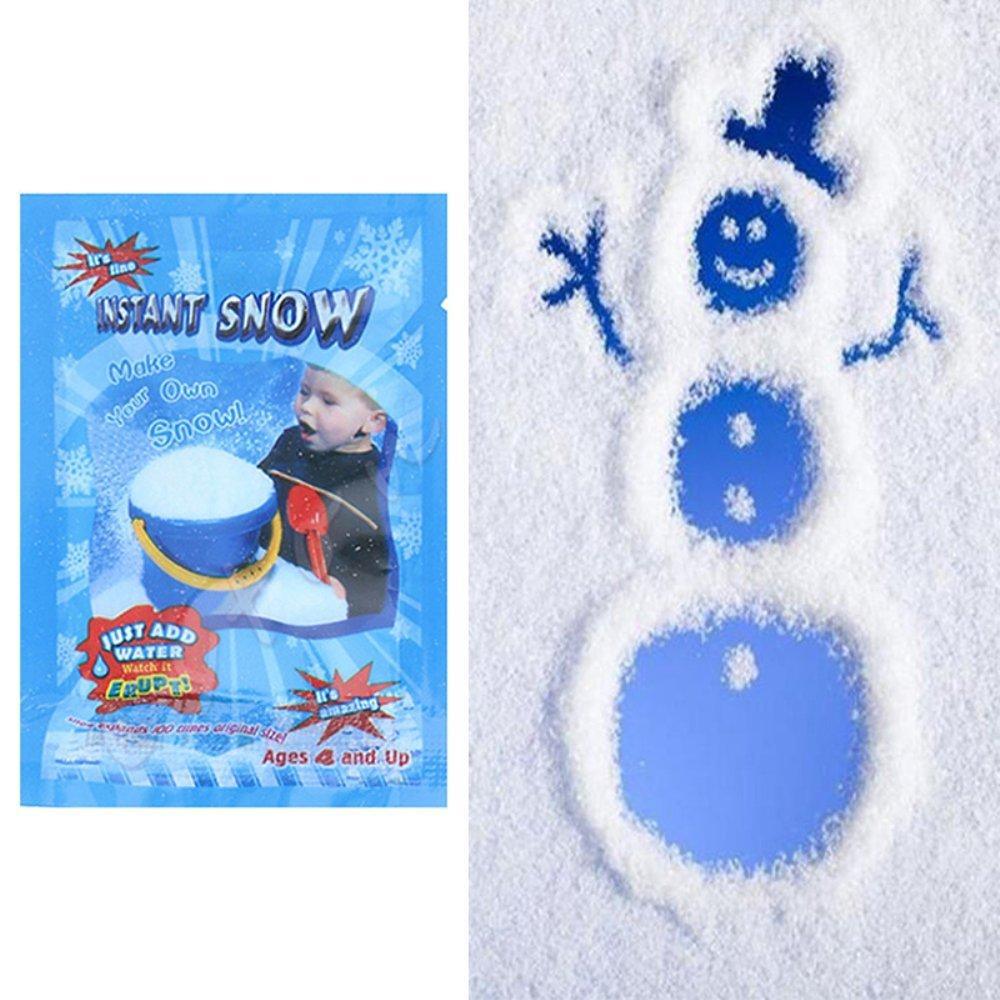 merymall Magic Snow Powder, Fiocco di neve artificiale Decor Instant Snow Fluffy For Christmas Wedding