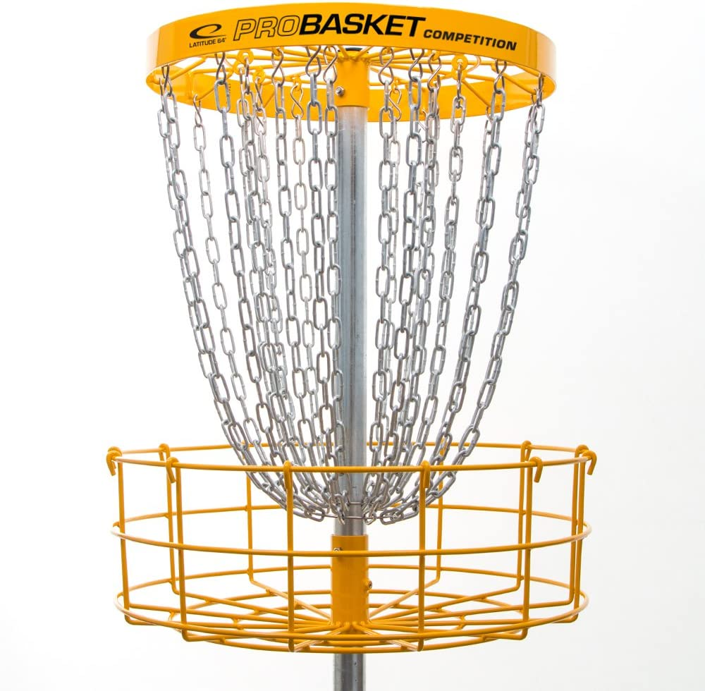 Latitude 64ゴルフDiscs probasket Competition 26チェーンディスクバスケットゴルフターゲット  In Ground Install
