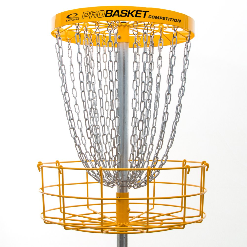 Latitude 64 Golf Discs ProBasket Competition 26 Chain Disc Golf Basket Target - Installable