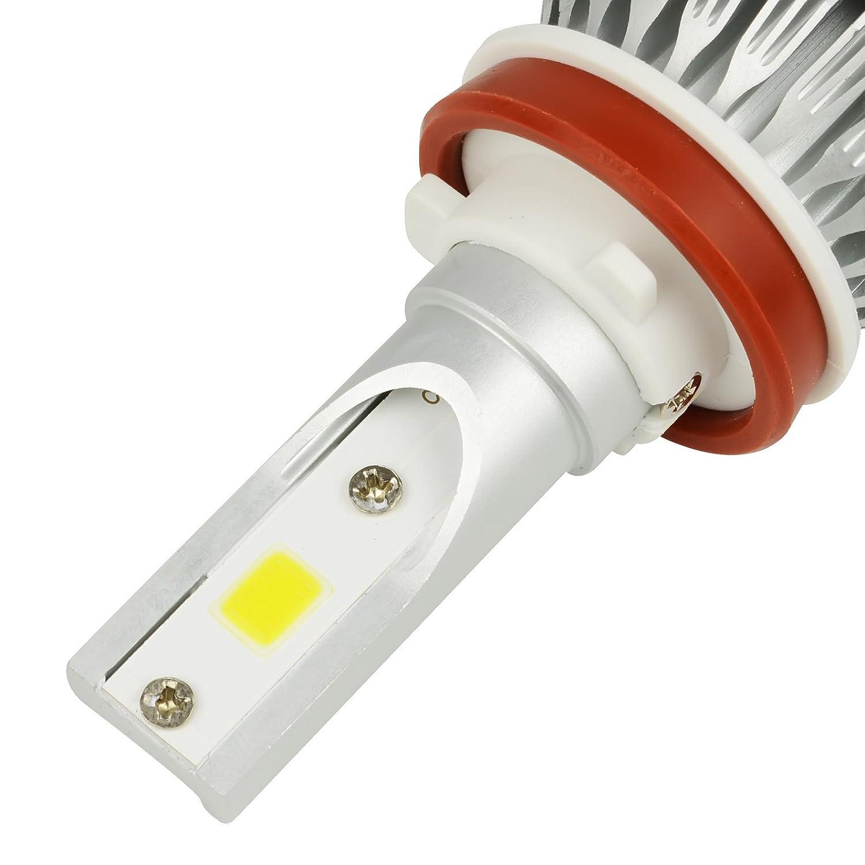 Safego 2X H4 Hi//Lo LED Faro Bombillas Alquiler de Luces LED 72W 7600Lm LED l/ámpara con la viruta del COB para el Coche veh/ículo NO CANBUS