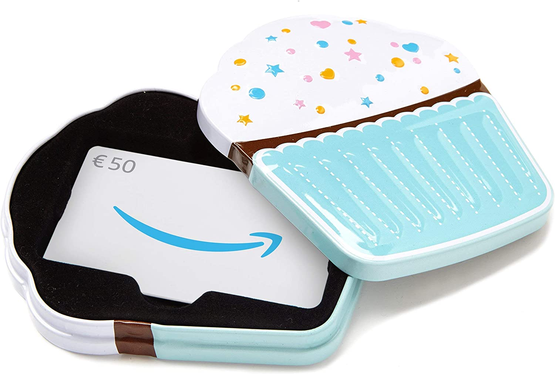 Buono Regalo Amazon.it - �50 (Cofanetto Cupcake)