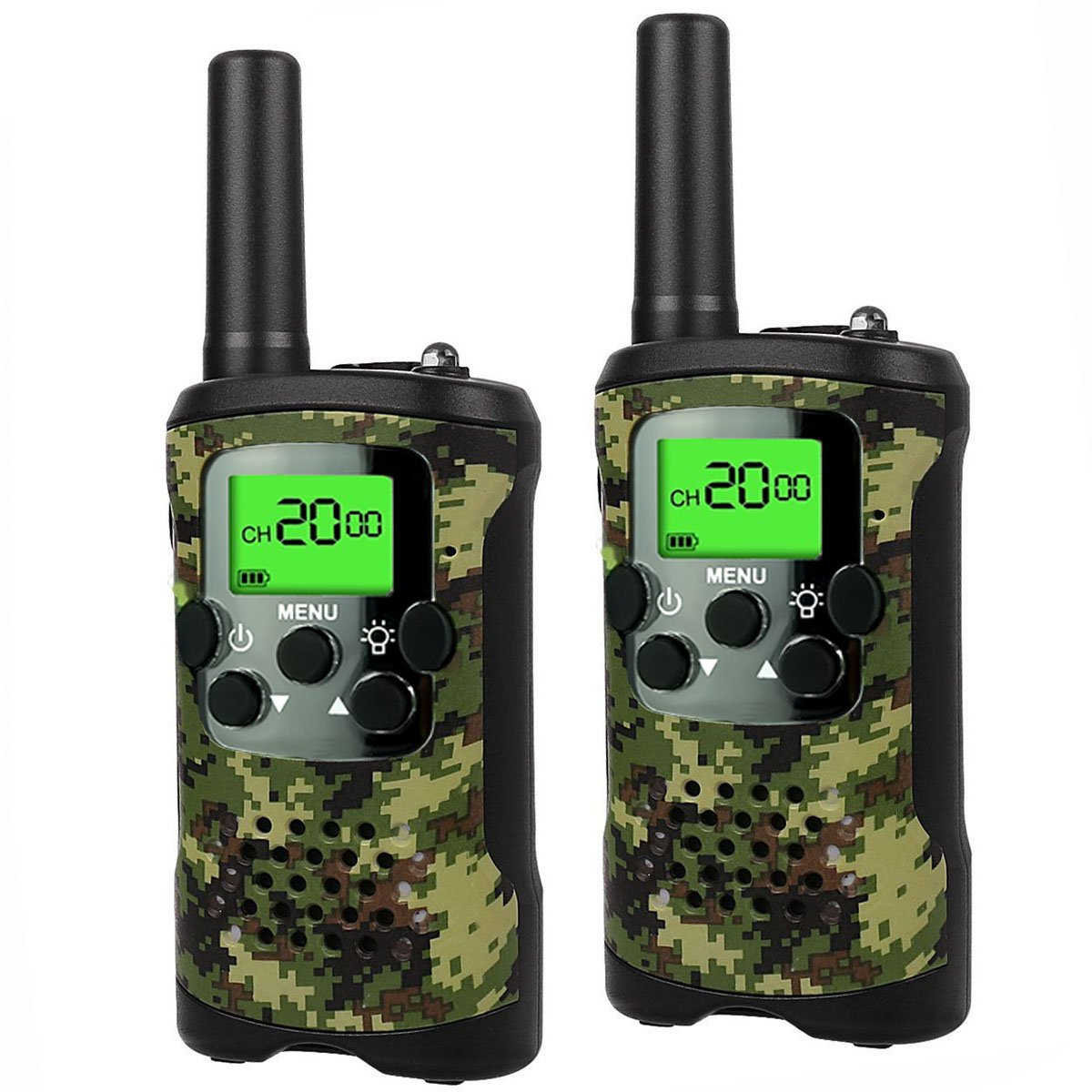 DIMY Toys Gifts 3-12 Year Old Boys Girls Teen Walkie Talkies Kids Long Range Birthday Presents Outdoor Outside Toys DJ01, Green