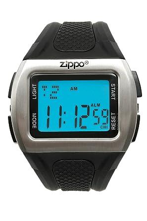 Zippo Sport - Reloj (Reloj de pulsera, Masculino, Acero inoxidable, Acero inoxidable