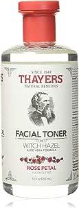 Thayers Alcohol-Free Witch Hazel With Organic Aloe Vera Formula Toner, Rose Petal