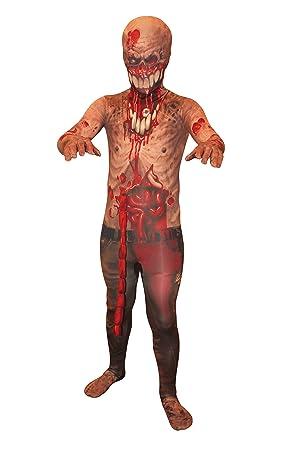 Explosión Guts – Zombie Kids Monster Morphsuit Disfraz – Tamaño Grande 123 cm +