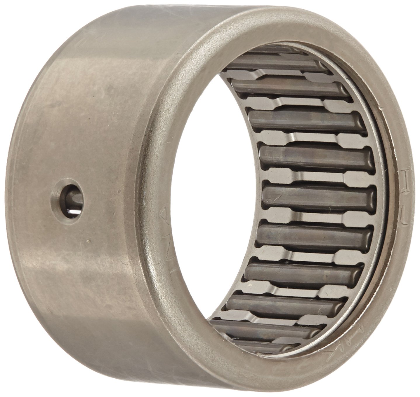 Outer Ring and Roller 28mm ID INA HK2816 Needle Roller Bearing Metric Open End 16mm Width 35mm OD Steel Cage Caged Drawn Cup 9000rpm Maximum Rotational Speed