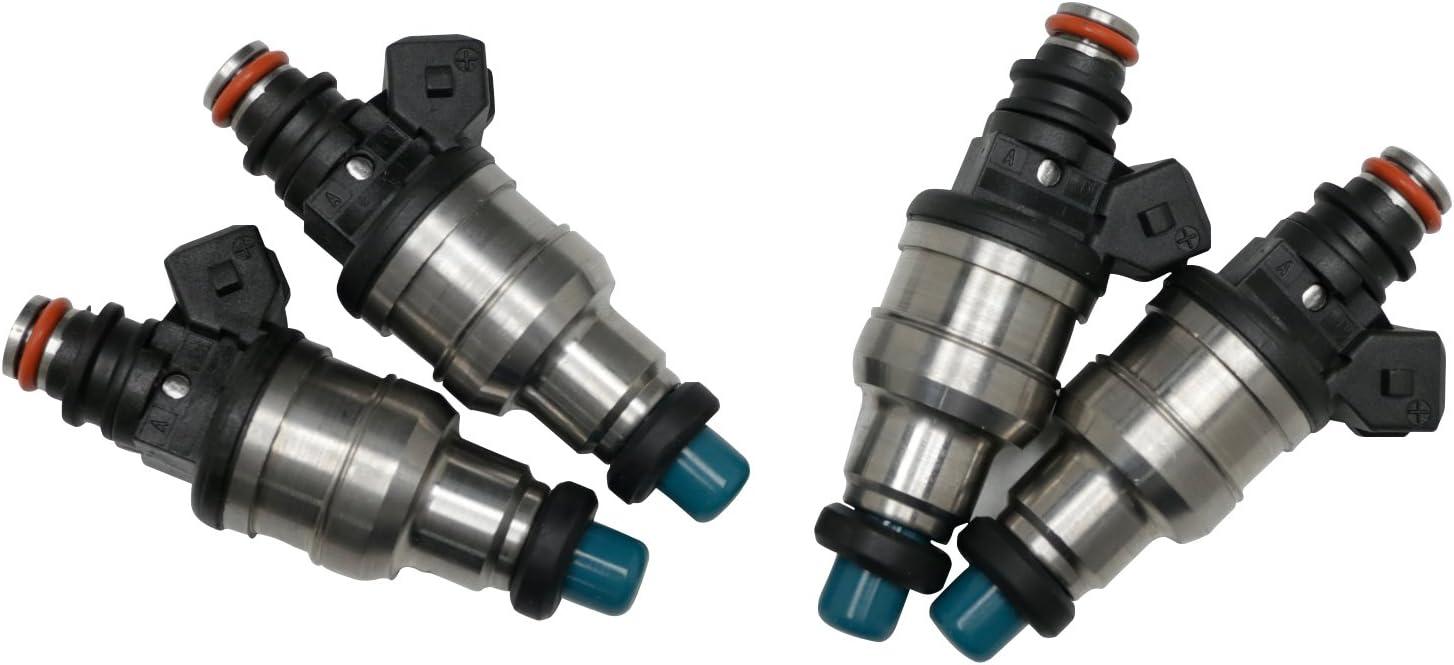 Fuel Injectors High Impedance 750cc Fuel Injectors Fit for Honda B16 B18 B20 D16 D18 F22 H22 H22A VTEC EV1 Clips