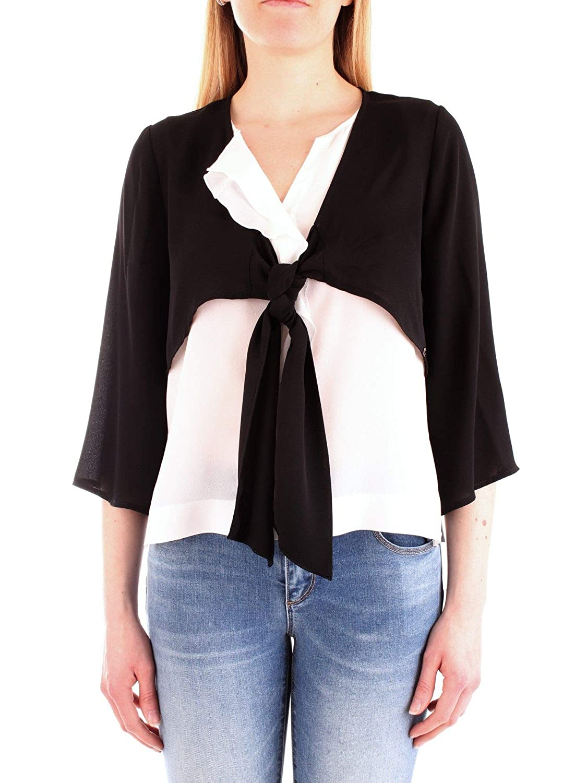 Fly Girl Women's 257202black Black Cotton Top
