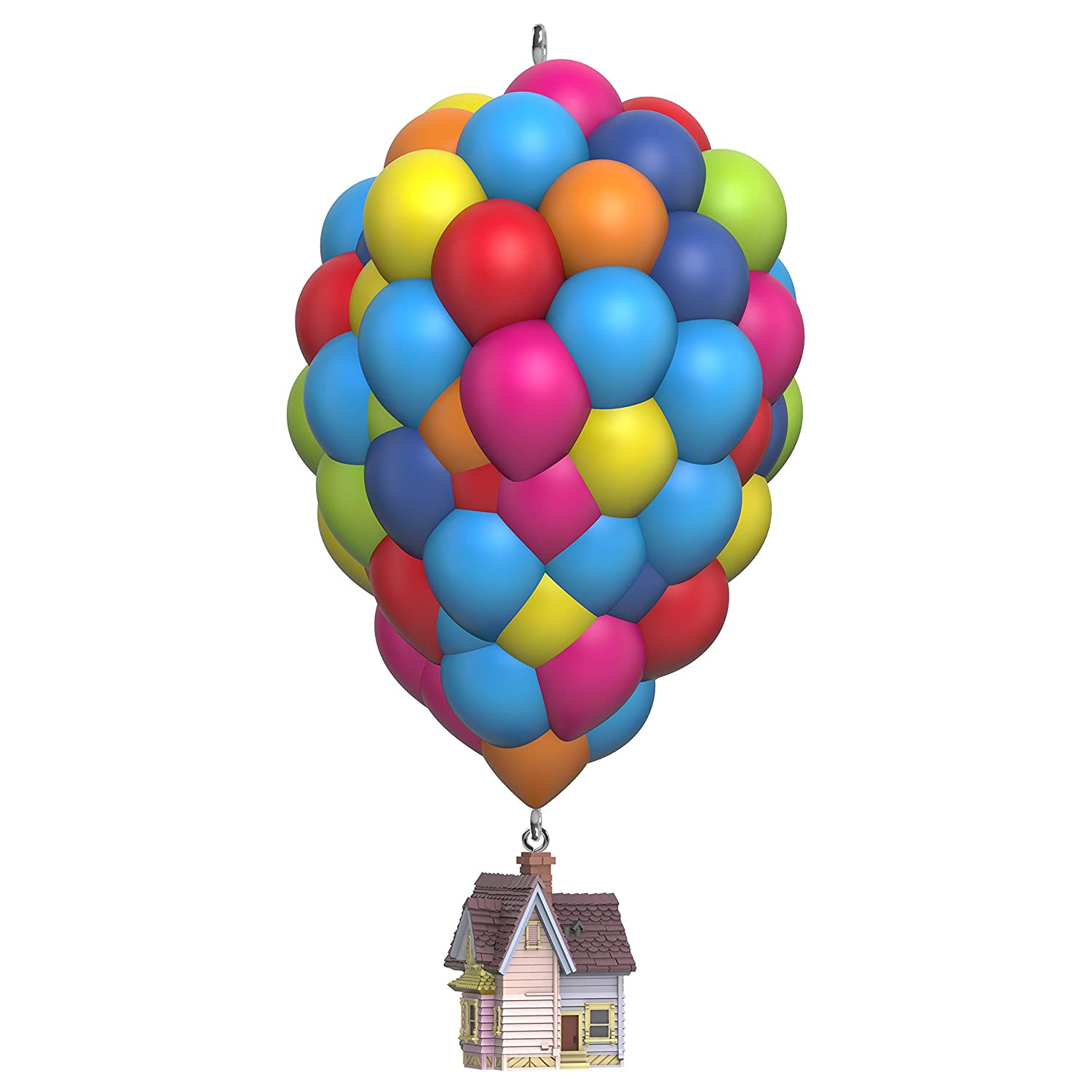 Hallmark Keepsake Christmas Ornaments 2019 Year Dated Disney//Pixar Up 10th Anniversary House with Balloons Musical Ornament Plays Married Life Song