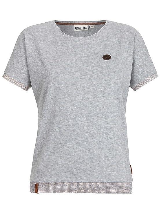 Naketano Damen T-Shirt Schlampenfieber T-Shirt  Amazon.de  Bekleidung 1f1ece5d80