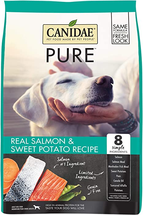 CANIDAE PURE Real Salmon, Limited Ingredient, Grain Free Premium Dry Dog Food