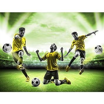 Tapisserie Photo Football 308 X 220 Cm Laine Papier Peint Salon