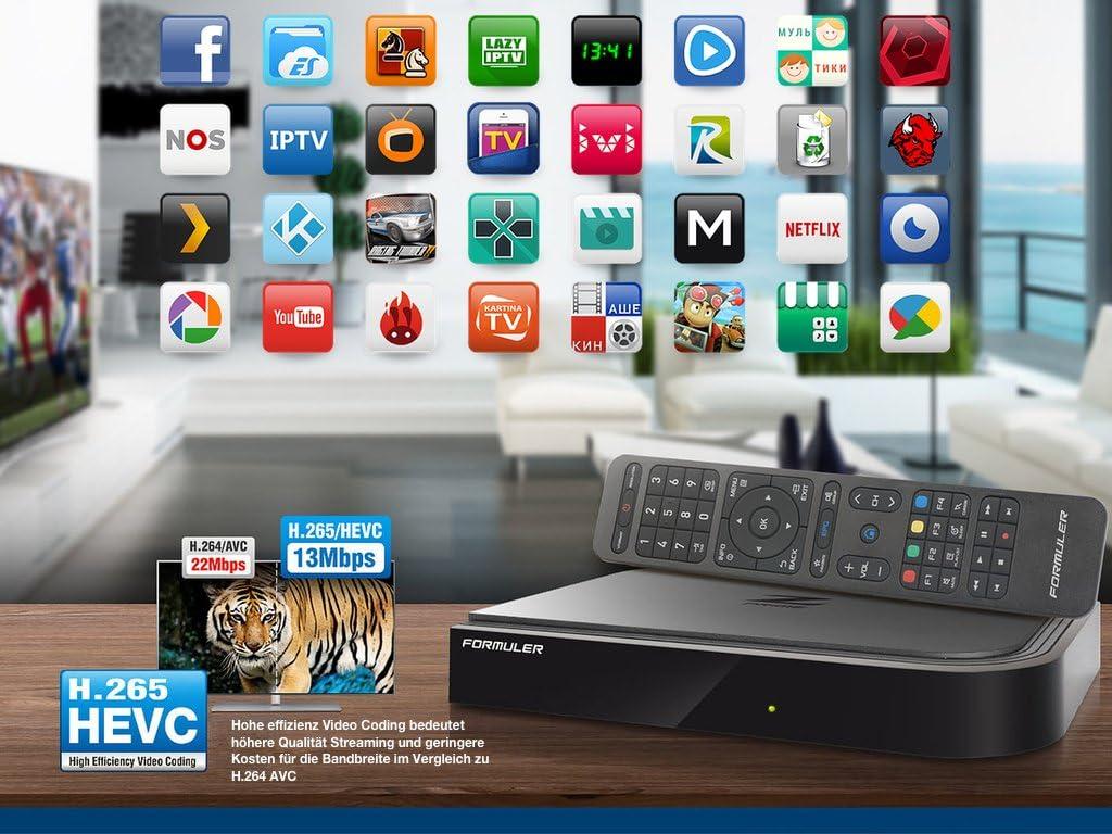 formuler Z Prime 4 K IPTV Media Player Android Kitkat TV Streamer ...