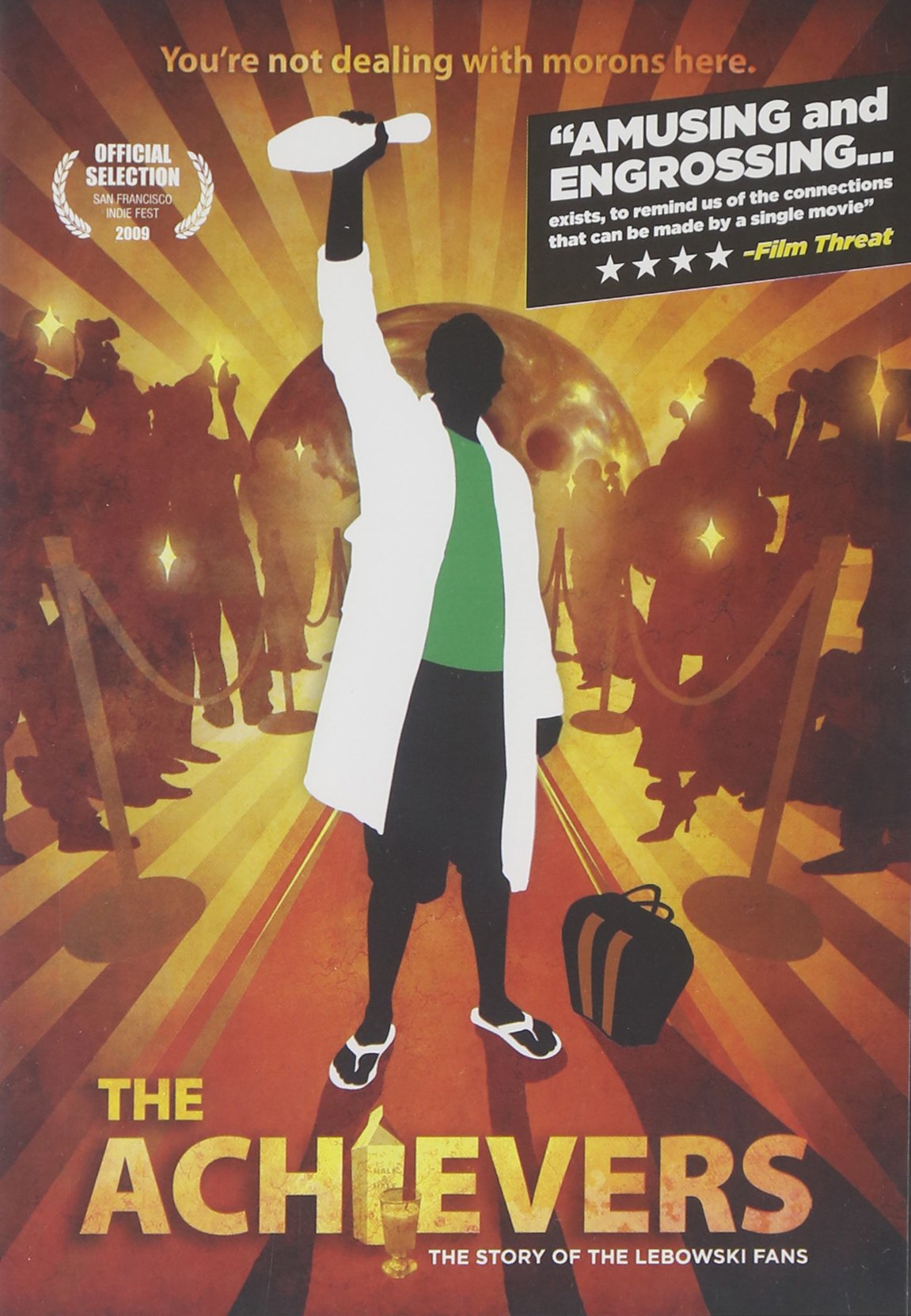DVD : Jeff Bridges - The Achievers: The Story Of The Lebowski Fans (DVD)
