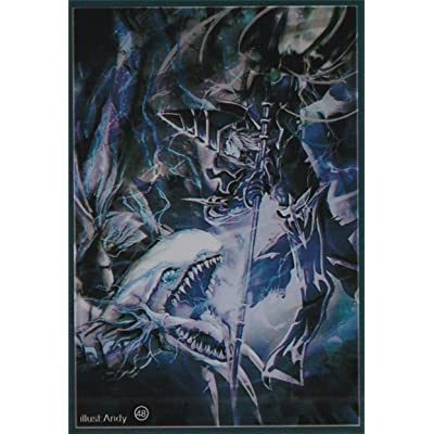 (100) Yu-Gi-Oh Standard Small Size Dark Magician vs Blue-Eyes White Dragon Card Sleeves: Toys & Games