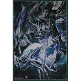 (100) Yu-Gi-Oh Standard Small Size Dark Magician vs Blue-Eyes White Dragon Card Sleeves