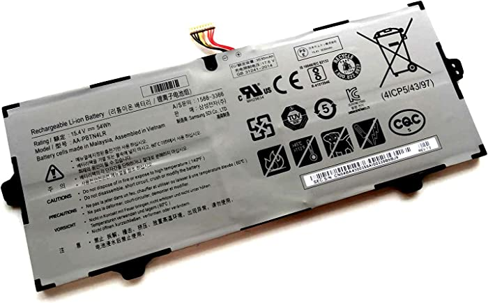 New AA-PBTN4LR 15.4V 54Wh Replacement Battery for Samsung 940X3M 940X5M 940X5N NP940X3M-K02US NP940X5M-X01US
