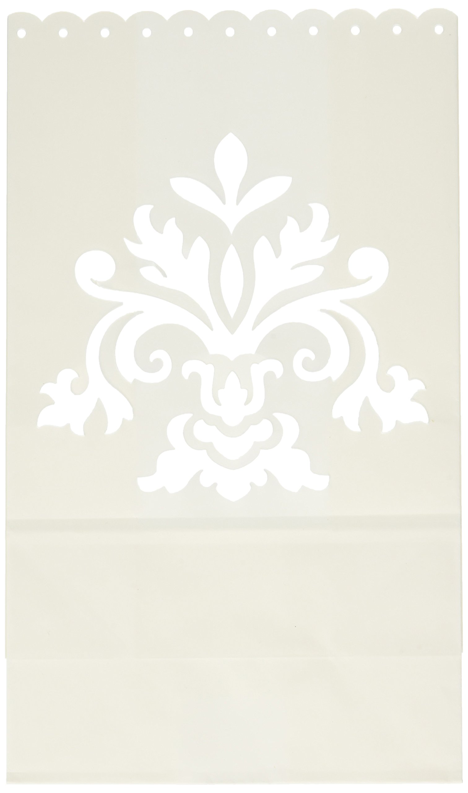 Amscan 379276 Bridal Paper Bag Luminaries   Wedding and Engagement Party , 24ct by amscan