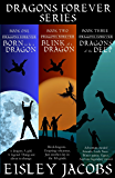 Dragons Forever Series, Books 1-3: Born to be a Dragon, Blink of a Dragon, and Dragons of the Deep