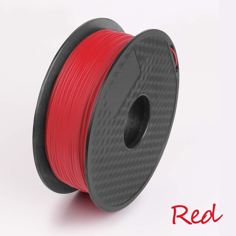 1.75mm -1KG Various Colours Available 3D Printer Filament PLA//ABS Black, ABS 350Meters