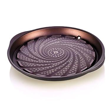 TeChef - Stovetop Korean BBQ Non-Stick Grill Pan with Teflon Select Non-Stick Coating (PFOA Free) / DuPont Print Designs Technology (GP12)