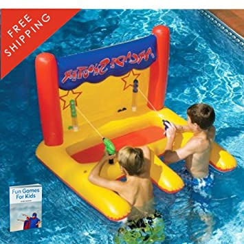 Big Inflatable Pool Floats For Kids With Sides Giant Inflatable Pool Toys  Huge Pool Floats Cool