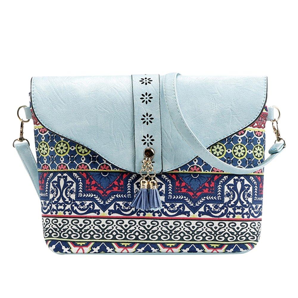 Jipai(TM) Sac à Bandoulière en Cuir pour Femme Sac à Main Hobo Crossbody Bags Sac Porté Epaule Rétro