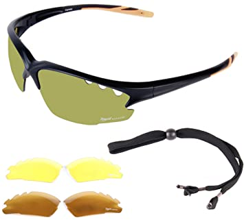 Rapid Eyewear Fairway Hombre y Mujer Gafas DE Sol Golf con ...