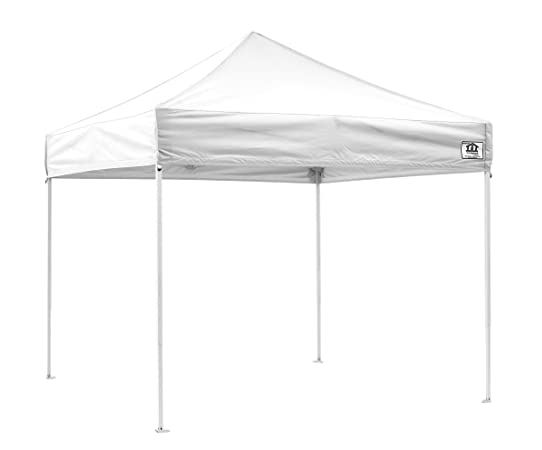 Impact Canopies Easy Pop Up Tent 10x10 Canopy White