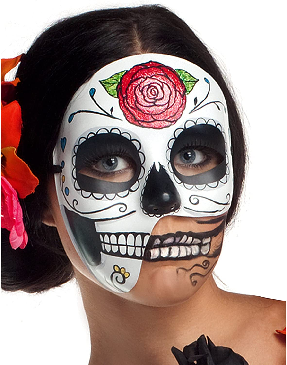 Party King Women/'s Day Of The Dead Costume