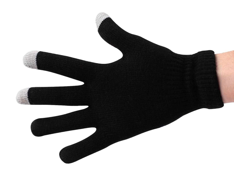 Boyztoys Touchscreen Gloves - Multi-Colour, One Size RY741