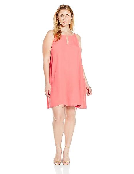 BB Dakota Women\'s Plus Size Yolanda A-Line Dress