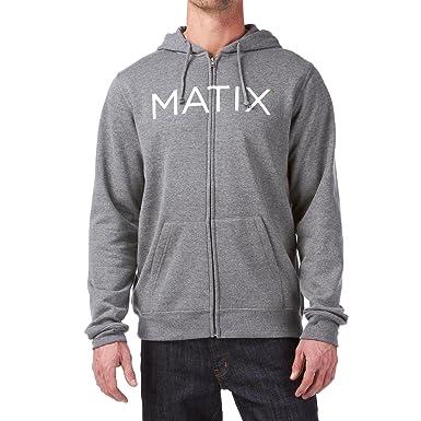 Matix - Sudadera con capucha - para hombre gris gris: Amazon.es: Ropa y accesorios