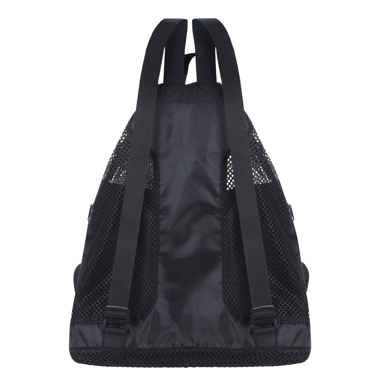 Vorspack Mesh Swim Backpack Bag Swimming Equipment Bag Quick Dry Lightweight Ventilation for Swim Beach Gym