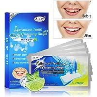 Aiooy 28pcs Tiras de Blanqueamiento Dental Tiras Blanqueadoras