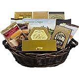 With Heartfelt Sympathy Gourmet Food Gift Basket - Medium SUMMER