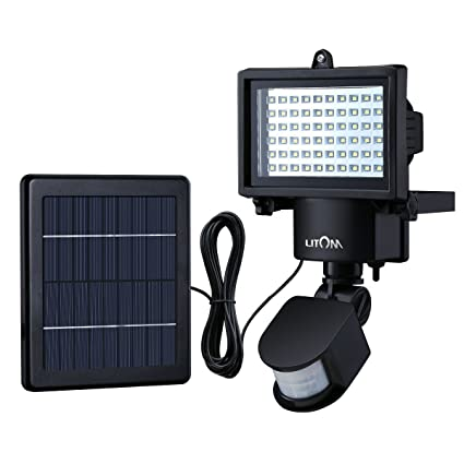 Amazon litom bright 60 led solar lights outdoor solar security litom bright 60 led solar lights outdoor solar security lights with motion sensor solar flood lights mozeypictures Images