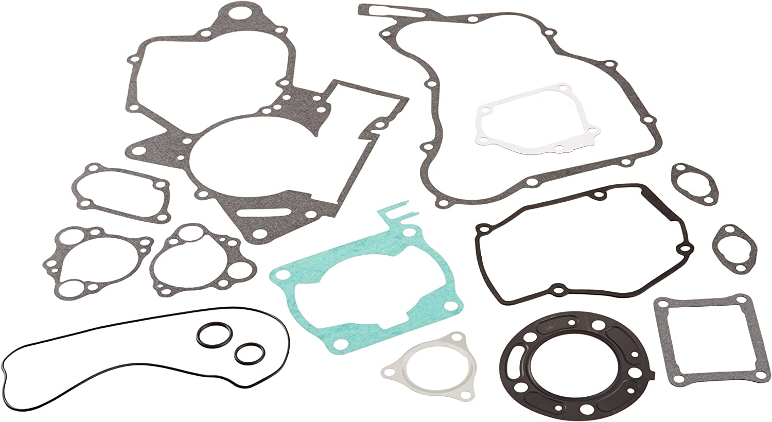 90-97 860VG808235 New Vertex Complete Gasket Set W//O Seals Compatible with//Replacement for Honda CR 125 R
