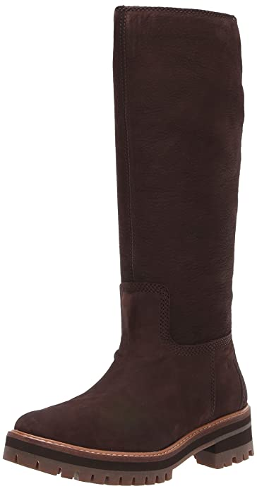 timberland brown knee high boots