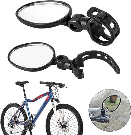 Forever Speed 2X Espejo Retrovisor Bici para Bicicleta del Camino de Montaña Espejo Ajustable del Manillar Retrovisor Universal: Amazon.es: Coche y moto