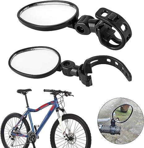 Forever Speed 2X Espejo Retrovisor Bici para Bicicleta del Camino ...