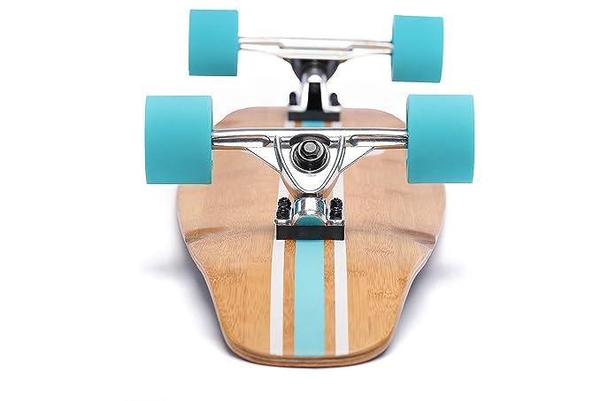 Ten Toes Board Emporium Ten Toes Zed Bamboo Longboard Skateboard Cruiser 5addf035053