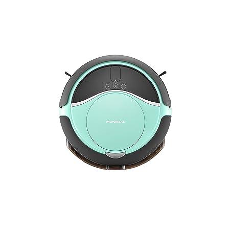 Moneual MEG7000MS - Robot aspirador hibrido, color verde menta: Amazon.es: Hogar