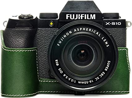 Zakao X S10 Schutzhülle Handgefertigt Echtleder Kamera