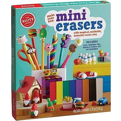 KLUTZ Make Your Own Mini Erasers Toy: Klutz: Toys & Games