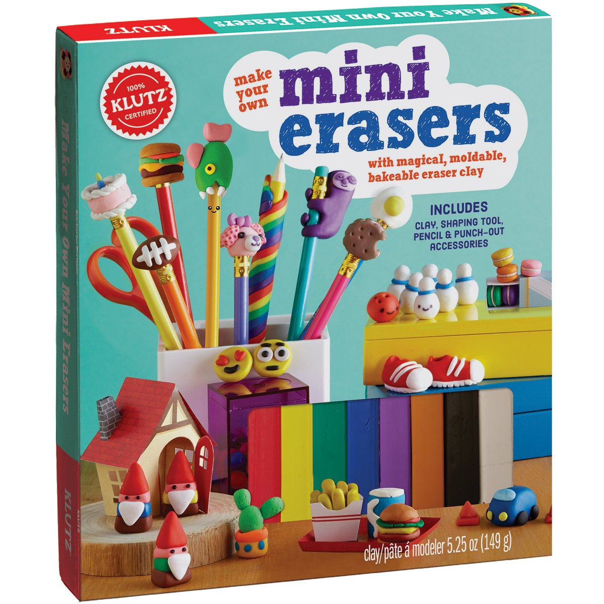 KLUTZ Make Your Own Mini Erasers Toy by Klutz
