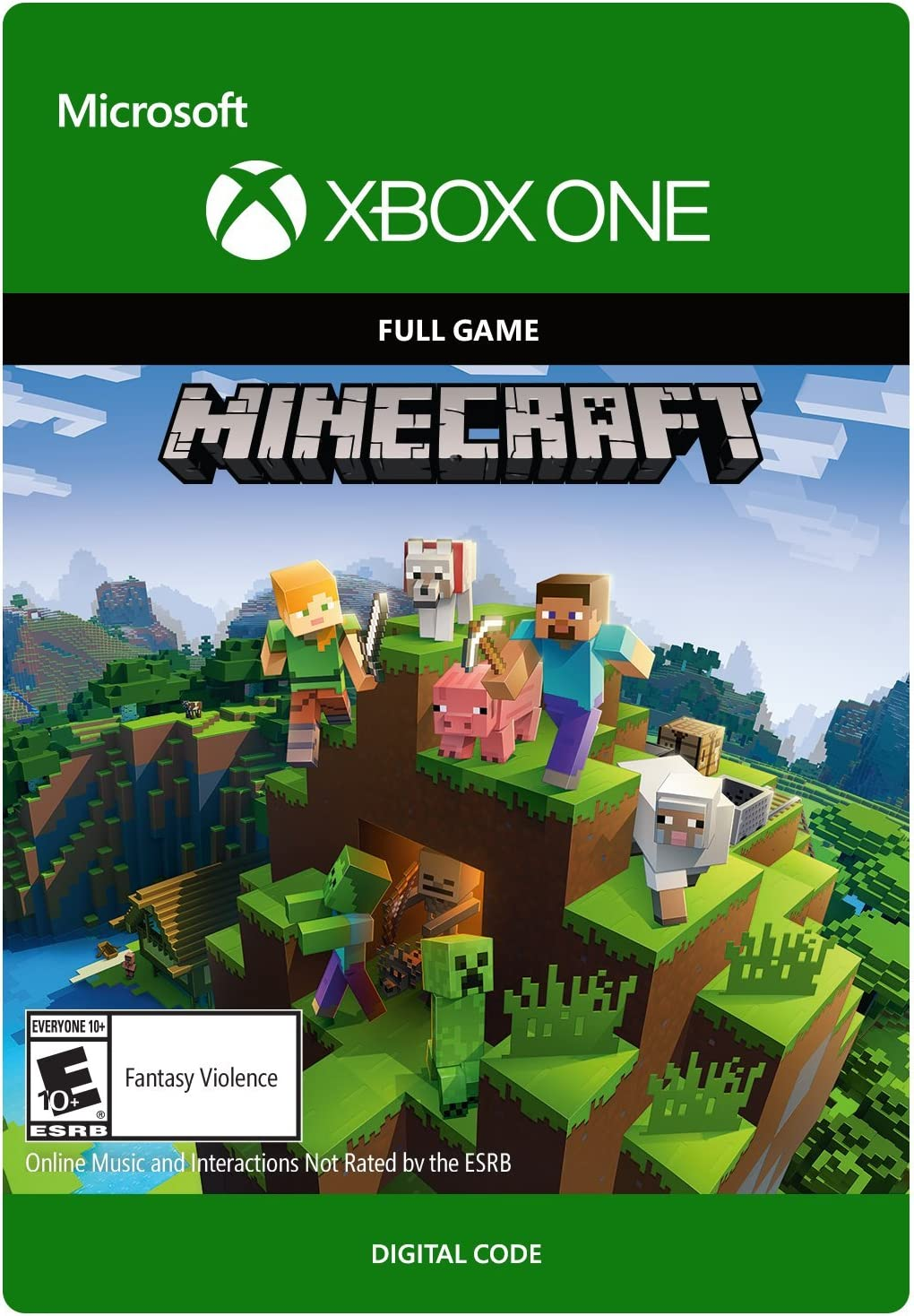 Amazon com: Minecraft - Xbox One [Digital Code]: Video Games